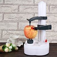 Multifunction Automatic Stainless Steel Electric Fruit and Vegetables Apple Peeler with Two Spare Blades Potato Peeling Machine