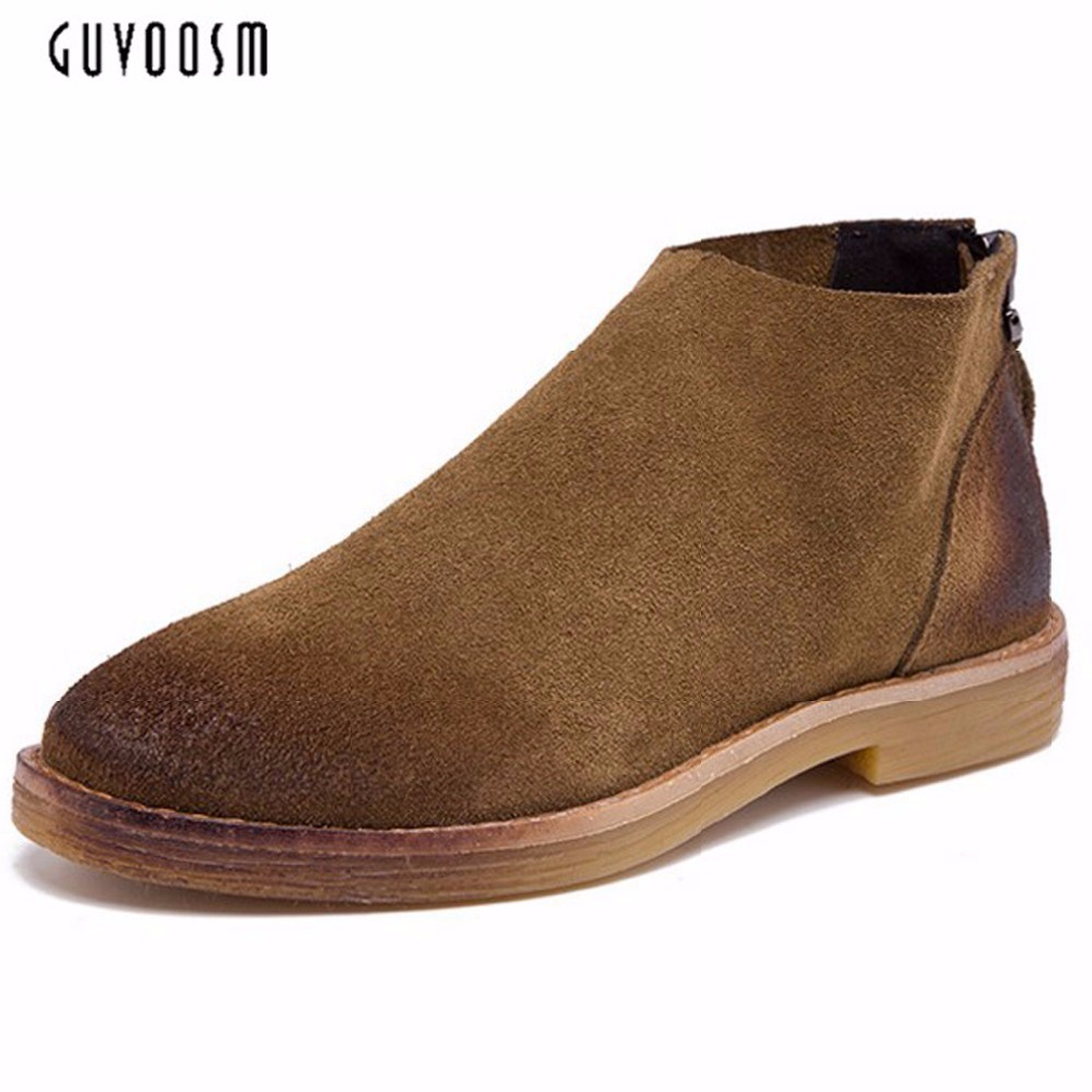 New Spring Autumn Casual Women Genuine Leather Zipper Ankle Riding Boots Thermal Flat Slip-resistant Fashion Winter Shoes Woman new arrival girl full leather boots spring autumn casual snow high top genuine leather boots women shoes a443