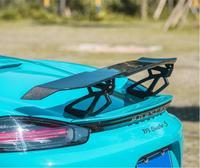Carbon Fiber CAR REAR WING TRUNK LIP SPOILER FOR Porsche Cayman 981 986 987 718 GT 2016 2017 2018 2019 2020