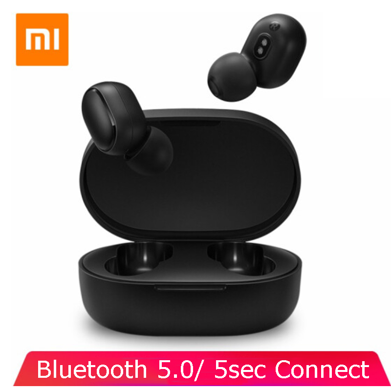 Xiaomi redmi airdots TWS Bluetooth Earphone Stereo Wireless earphone Noise Cancellation With Mic headset Earbuds AI