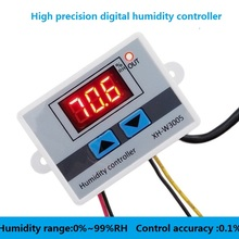 W3005 220 в 12 В 24 в цифровой регулятор влажности прибор переключатель контроля Влажности Гигростат гигрометр SHT20 датчик влажности