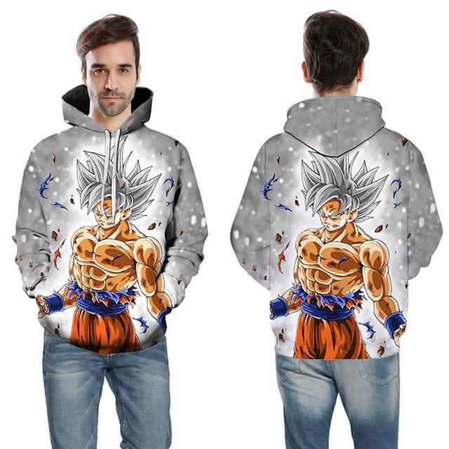 Cartoon hoodie seven Dragon Ball Z pocket hooded sweatshirt  2