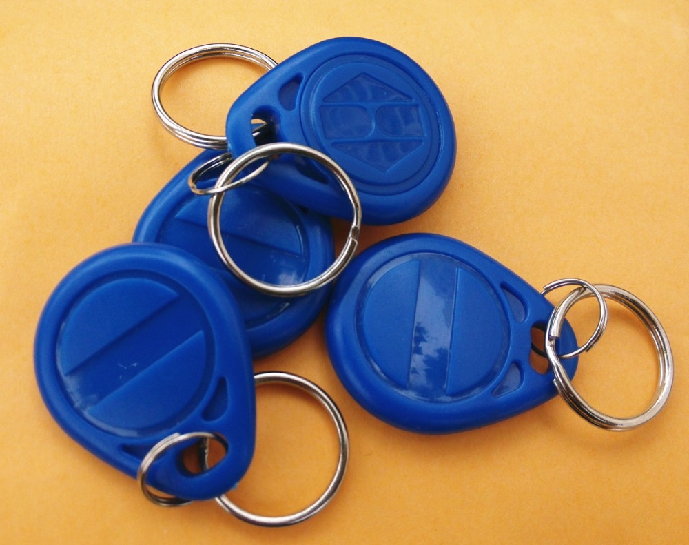 RFID Keyfobs tag for H ID Copier/duplicator ABS Waterproof 125KHZ waterproof contactless proximity tk4100 chip 125khz abs passive rfid waste bin worm tag for waste management