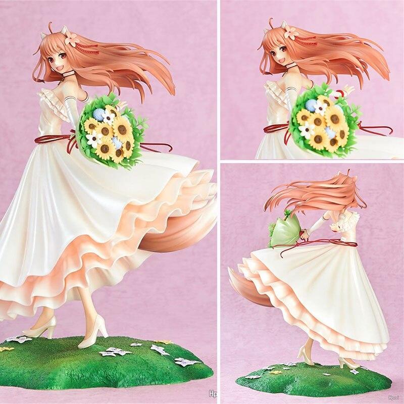 Anime épices et loup Holo 1/8 échelle peint figures robe de mariée Ver. Figurine en PVC modèle à collectionner jouets pour enfants gi