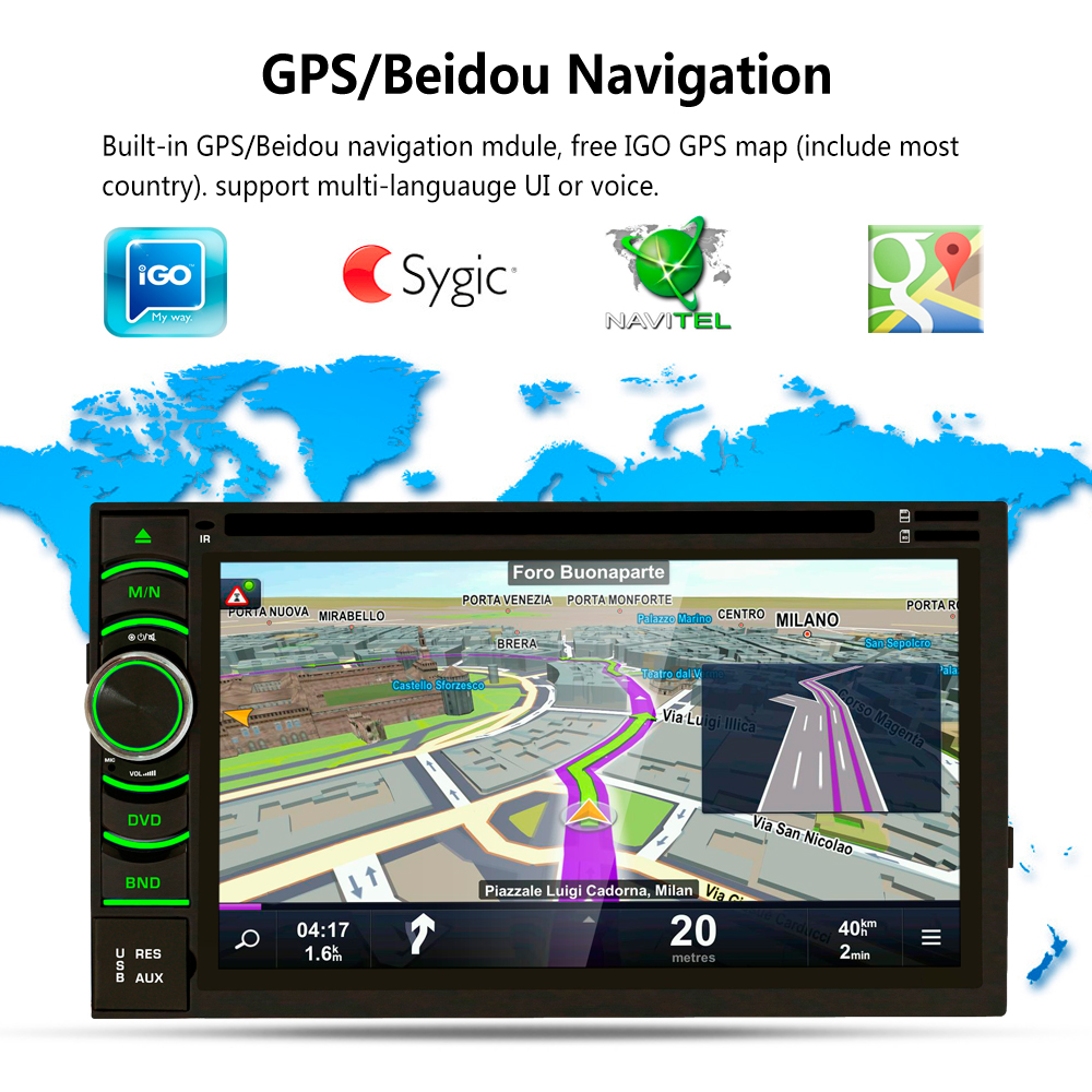 AR6116 6 5 Touch Screen Android 6 0 1 font b Car b font Radio DVD