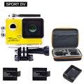 24fps Origina4K Wi-fi Câmera de Ação de Esportes ir pro Novatek96660 Mni Camcorder Carro DVR Capacete de Mergulho À Prova D' Água Esporte Cam Câmera