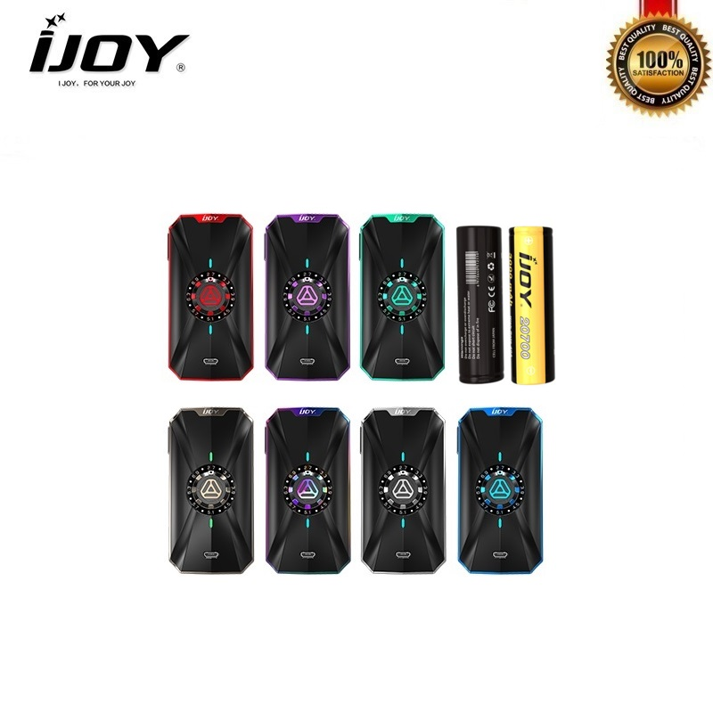 E-Cigarette IJOY ZENITH 3 Box Mod 360W fit Diamond Subohm Vape Tank Dual 20700 Battery Vaporizer zenith 3 vs captain pd270 mod