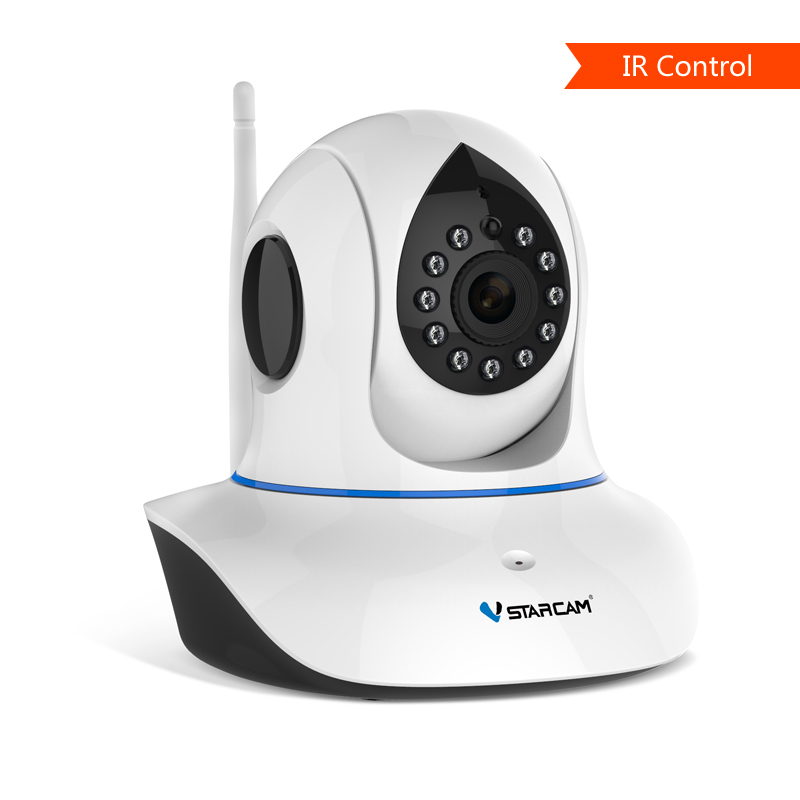 IR Control HD ONVIF IP Camera Support Remote Control TV, Air Conditioner, Projector & Other Device by Eye4 Smart Cloud App