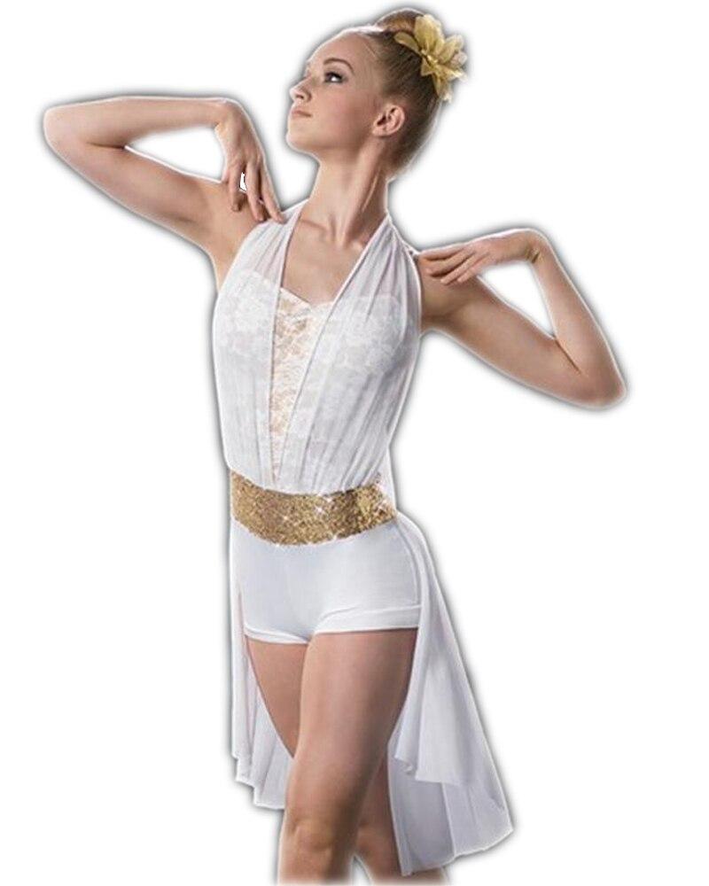 Adulto Crianças Dança Traje Saia de Renda Sem Encosto Traje New Professional Ballet Tutu Collant de Balé Trajes da Dança para Crianças