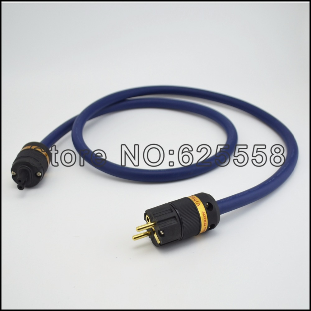 Hi End viborg audio Alpha Series FP-3TS20 Power cord cablewithschuko powerplug +figure 8 IEC connector power cord cable for hifi viborg audio fp 3ts20 power cable schuko power plug figure 8 iec connector power cable
