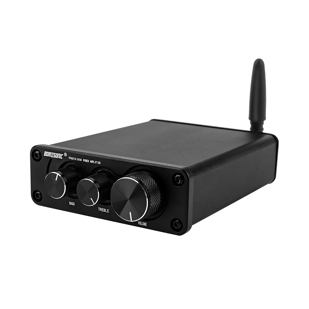 Mini Bluetooth 5.0 HiFi TPA3116 50W x2 Power Stereo Amplifier w// Power Adapter