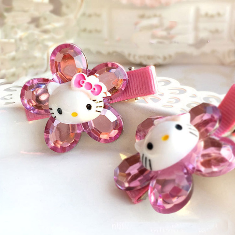 20PCS 2019 New Cute Hello Kitty hair pins girls rubber band birthday party favor promotional gifts giveaways wholesale20PCS 2019 New Cute Hello Kitty hair pins girls rubber band birthday party favor promotional gifts giveaways wholesale