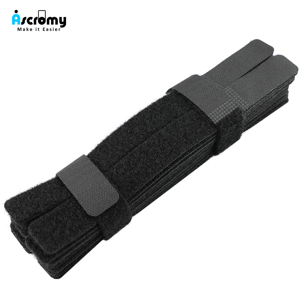 50Pcs Power Cable Ties Computer Wire Cord Rope Holder For Personal Office Cords