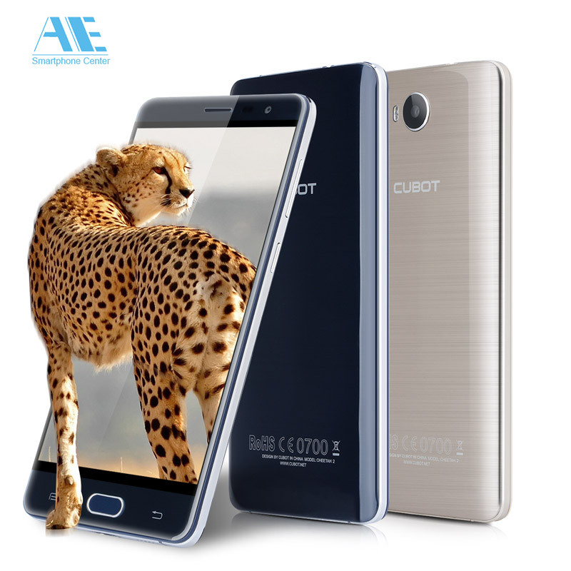 bilder für Cubot CHEETAH 2 3 GB RAM 32 GB ROM handy MT6753 Octa Core 5,5 Zoll HD Android 6.0 Smartphone 13.0MP Multi Touch Mobile telefon