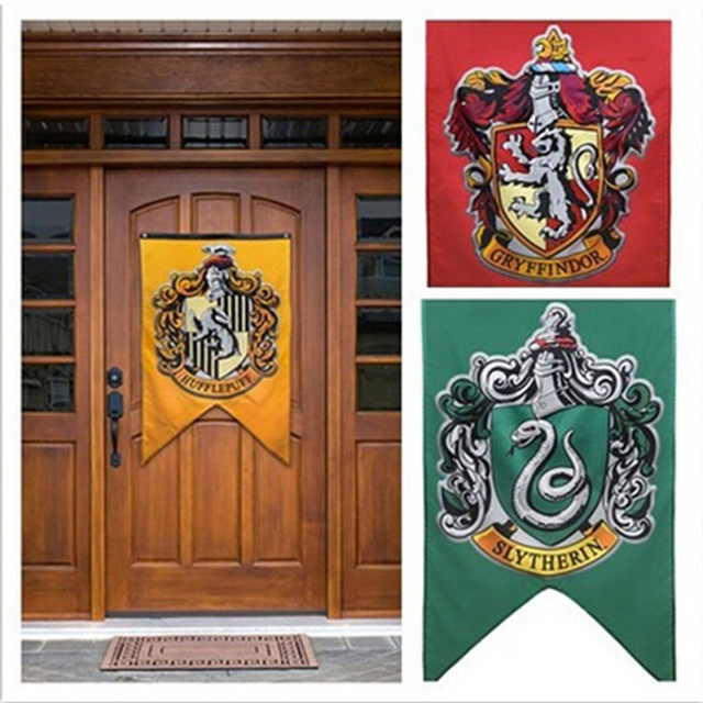 Aliexpress com : Buy New Harry Potter Party Supplies College Flag Banners  75*125cm for Boys Girls Kids Party Supplies from Reliable Flags, Banners &