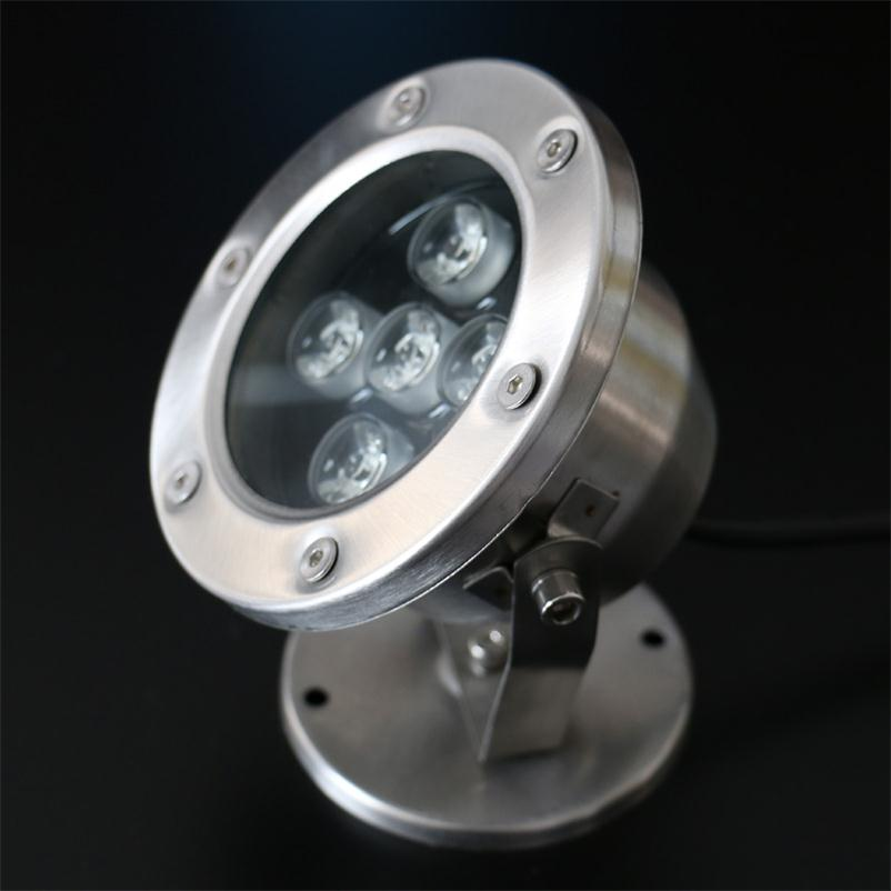 Led Underwater Lights 5w/7w Fountain Lamp Outdoor Lighting Stainless Steel Swimming Pool Landscape Lamps Fish Pond Spotlights To Clear Out Annoyance And Quench Thirst Led Lamps