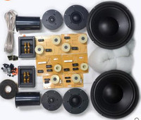 Hivi DIY комплект динамиков 10 дюймов, сабвуфер Q1R + SS10 + DMA A + DN B1F динамик