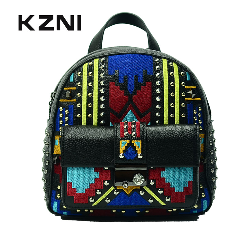 KZNI Genuine Leather Summer Bags for Women 2017 Purses and Handbags Crossbody Bags for Women Designer Handbags High Quality 1411 high quality vintage small crossbody bags for women genuine leather tassel handbags and purses female clutches 8370