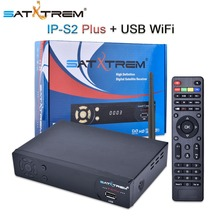 Satxtrem DVB-S2 IP-S2+ Satellite Receiver Full HD TV Tuner Decoder For Spain Italy Belgium Germany UK France Support IPTV Cccam