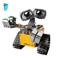 StZhou 16003 687Pcs Idea Robot WALL E Building Blocks Bricks Blocks Toys For Children WALL E