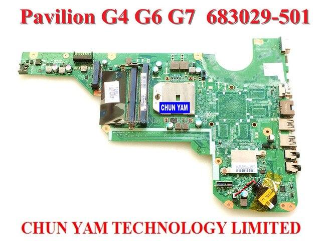 683029-501 placa madre para hp pavilion g4 g6 g7 g4-2000 g6-2000 683029-001 laptop notebook systemboard mainboard garantía de 90 días