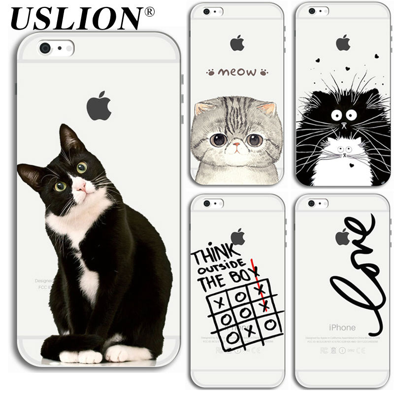 Para el iphone 7 7 6 6 s 5 5S SE Plus Cajas Del Teléfono Luxury Soft TPU de la H