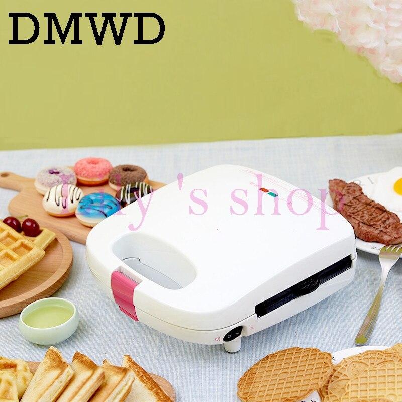 Multifunctional waffle machine mini Egg cake Full-automatic Household Electric cake doughnut Makers Breakfast making Machine цена и фото