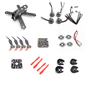 QAV210 210 210mm Carbon Fiber Frame Kit NAZE32 6DOF 12A ESC ML2204S 2300KV motors For RC Quadcopter Racing Cross Drone Kit +