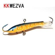 KKWEZVA Fishing Lure 1pc/7.5cm/20G Wobbler Peche Spoon Bait Fishing Tackle Winter Artificial Hard Fake Fish Metal Lures Set
