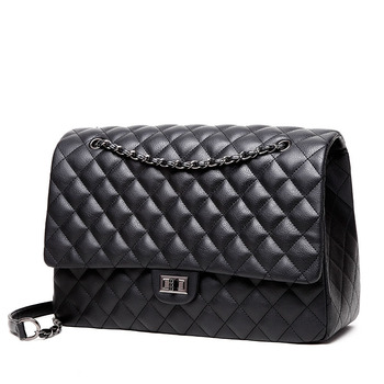 Winmax Large Capacity Bag Women Office Chain Shoulder Travel Luxury Handbags for Girls Leather Pu Quilted Bolsa Feminina - discount item  49% OFF Women's Handbags