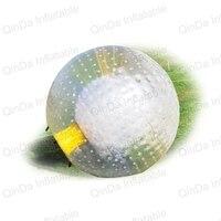 amazing body bubble ball, cheap grass inflatable body zorb ball, pvc inflatable human hamster ball for sale