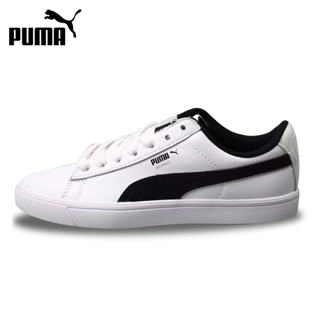 pretty nice a7319 b3d8a US $92.68 |Original BTS X Puma Collaboration Puma Court Star Korea Women  Men Unisex Shoes Skateboarding Shoes Comfortable Classics 366078-in ...