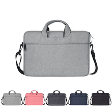 Buy Waterproof Laptop Bag Men Women for Macbook Air Pro 13.3 14.1 15.4 15.6 Laptop Notebook Shoulder Handbag Briefcase Cases directly from merchant!