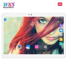 waywalkers 10.1 inch official Original Phone Call Google Android 7.0 MT8572 Octa Core IPS Tablet WiFi 4GB+64GB metal tablet pc