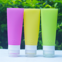 Popular Silicone Travel Portable Refillable Bottles Fashion Women Makeup Tools Lotion Cosmetic Bottle Hotel Supplies