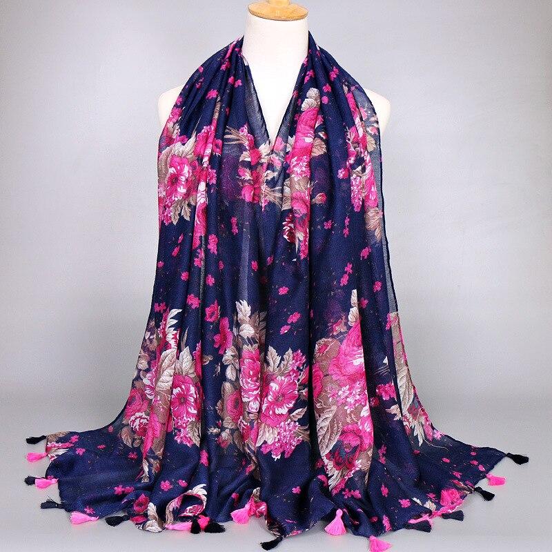 15pcs lot large floral colourful ladies wrap classic high quality scarves scarf 1color fashion cotton shawls