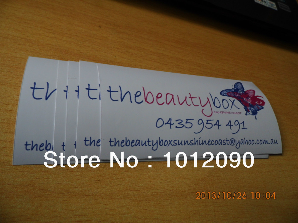 Vinyl sticker printing/Custom small stickers printing