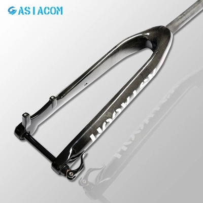 Newest 26/27.5/29er inch Mountain bicycle 3K full carbon fibre disc brake thru axle straight bike front fork MTB parts Free ship 2018 anima 27 5 carbon mountain bike with slx aluminium wheels 33 speed hydraulic disc brake 650b mtb bicycle