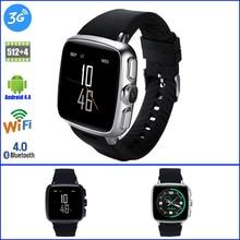 Z01 Android Smart Watch RAM 512 ROM 4 GB Heart Rate Wrist Watch 3G Sim GPS