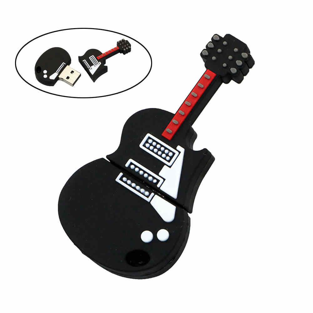 Nowy długopis napęd 8GB 16GB 32GB 64GB USB flash jazdy samochodem śliczne gitara instrumenty skrzypce Model USB 2.0 flash Pendrive Pendrive prezenty