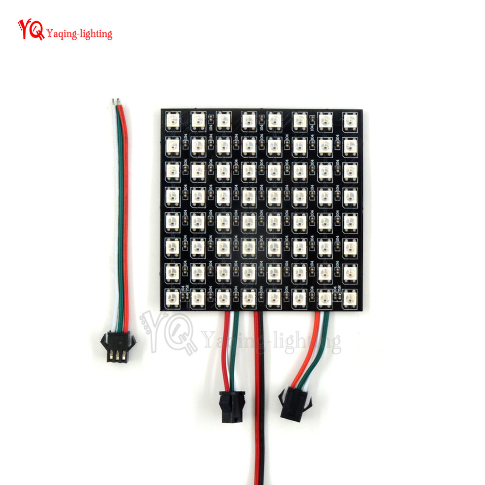 O 8 * 32 16 * 16 8 * 8 pixels WS2812B écran flexible programmé - Éclairage LED - Photo 6