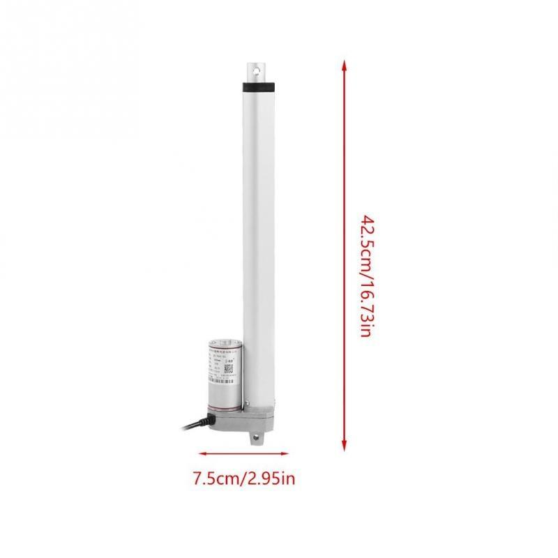 12V Power 750N Hub 150-700mm Linear Drive Hub Electric Motor Mount DC Electric Push Rod 450mm