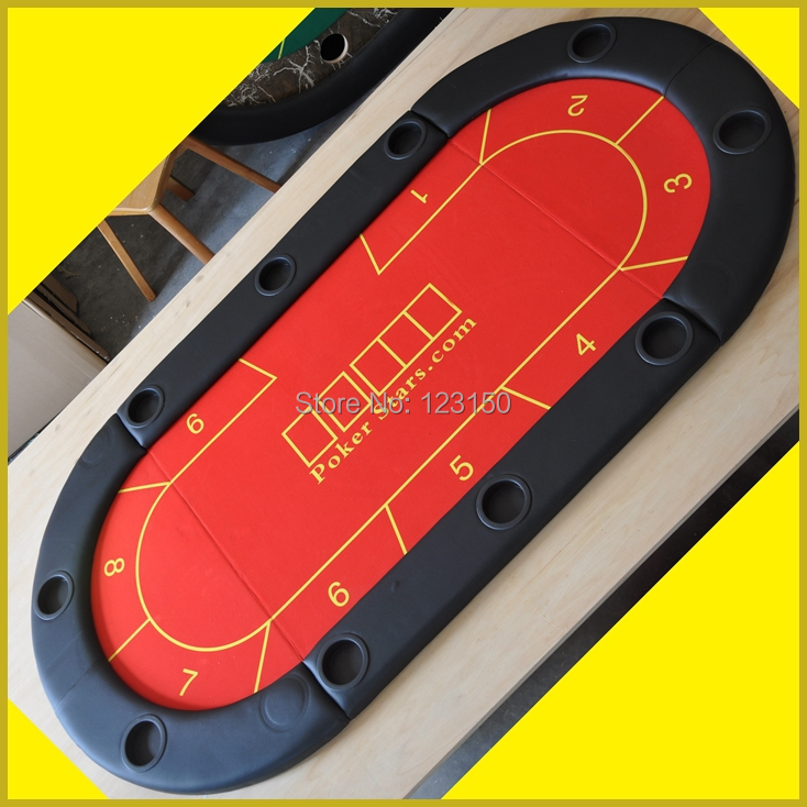 Tp 01 Ukuran 90 180 Cm Poker Table Top Dilipat Kasino Tabletop