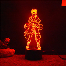 3D Led Naruto USB Table Lamp