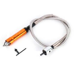 Image 3 - Tungfull Elektrische rinding Flexible Welle Schlauch Bohrfutter Gravur Maschine Gravur Pen Bohrmaschine Dremel Zubehör