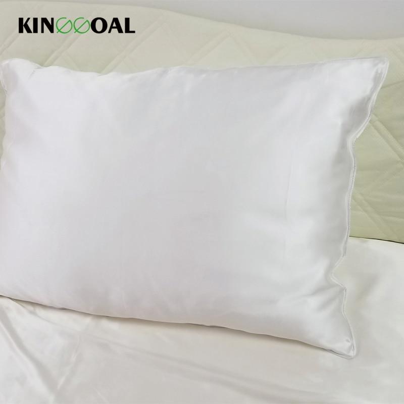 Kinggoal Luxury Both Side Pure 22mm Silk Pillowcases