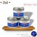 3 color Del Gel del Constructor de IBD 2 oz/56g-UV Fuerte Gel Rosa Blanco Claro para nail art extremidades falsas de extensión NA394