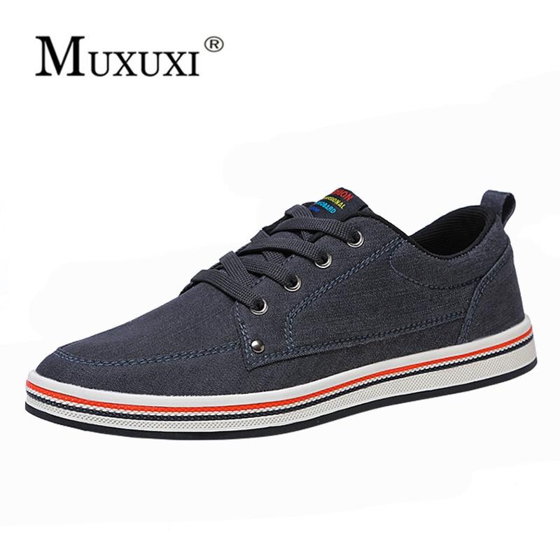 2018 Big Size Breathable Mens Shoes Sales Lace Up Canvas Shoes Luxury Brand Men Shoe Designer comfortable Shoes Male Footwear