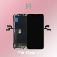 新しい 1:1 オリジナルの Oem 品質有機 El/TFT iphone X XS Xsmax XR LCDdisplay 交換顔認識送料無料