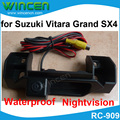 Special for Suzuki Vitara Grand SX4 rearview camera with 170 lens Degree angle nightvision waterproof free shipping